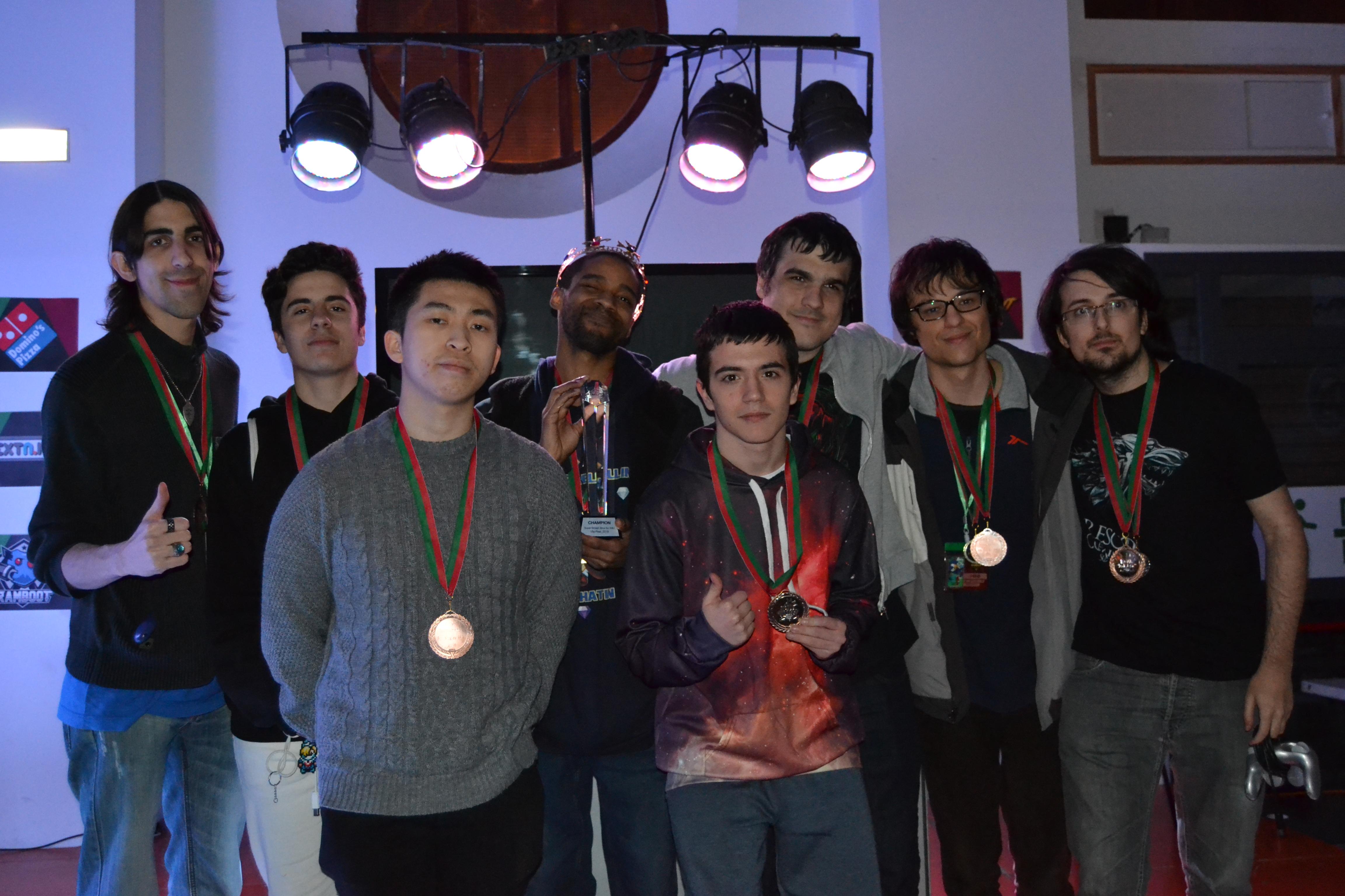 Top 8 Roll Dynasty Tournament. Foto por Dr.Dvd